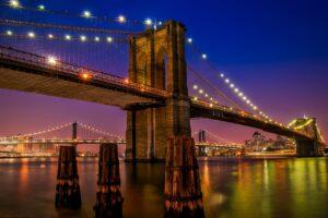brooklyn bridge, landmark, historic